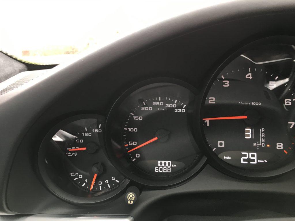 1000 km på mätaren