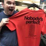 Porsche Nobody's perfect T-shirt