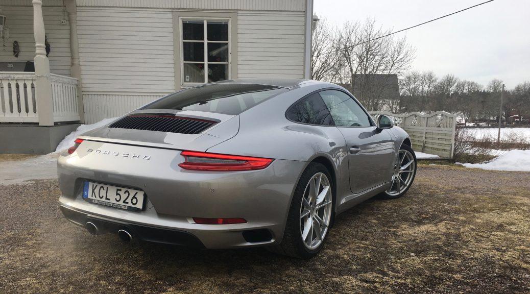 En 911a i GT Silver